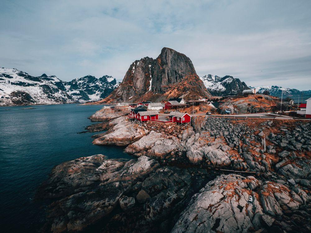 podróż do Norwegii