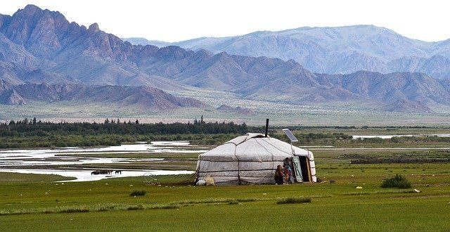Mongolia grafika