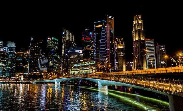 Singapur grafika