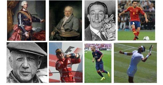 Hiszpania znani ludzie