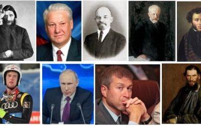 Rosja znani ludzie