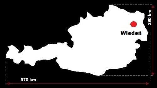 Austria wymiary