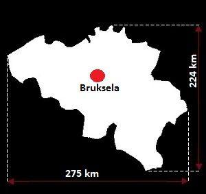 Belgia wymiary