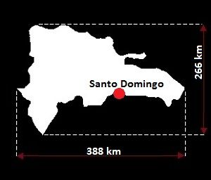 Dominikana wymiary