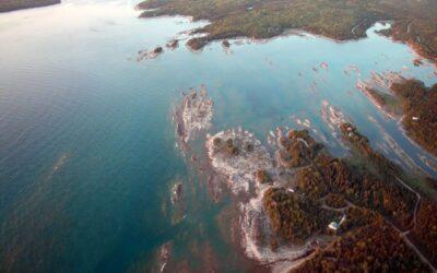 10 największych jezior w Ameryce Północnej