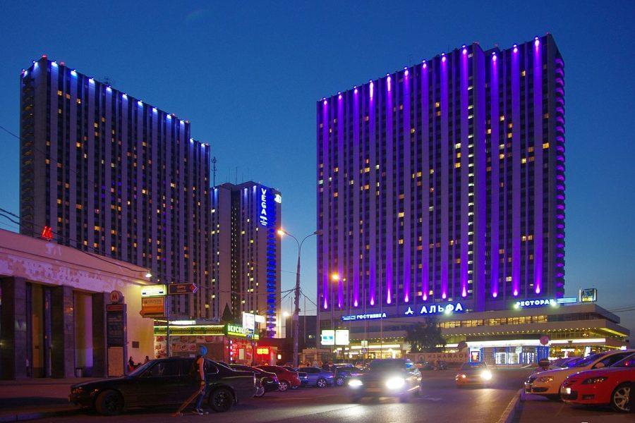 Izmailovo Hotel grafika