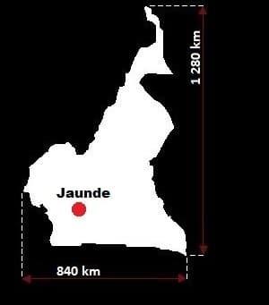 Kamerun wymiary