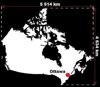 Kanada wymiary