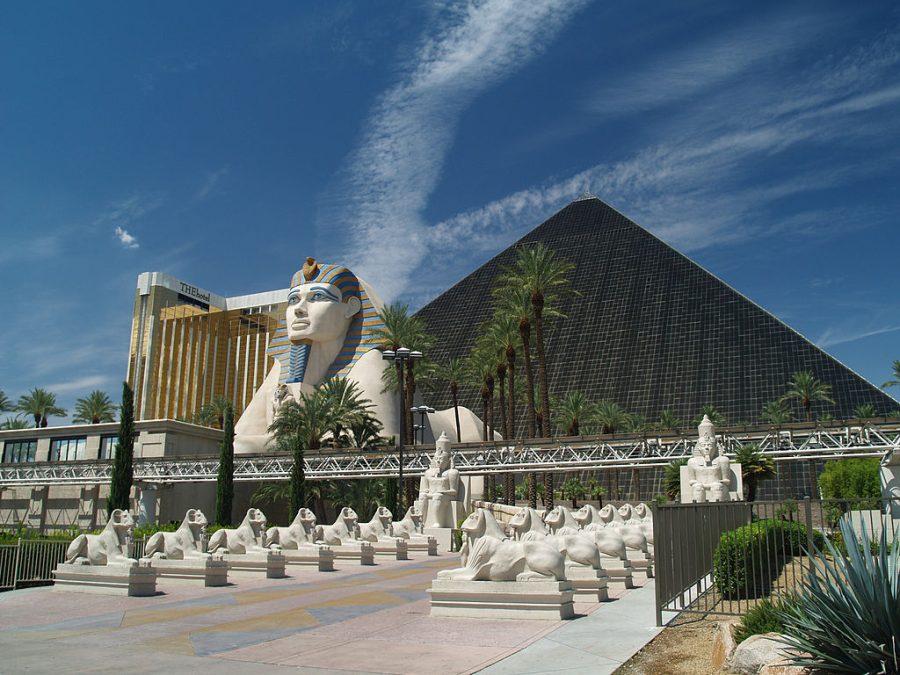 Luxor Las Vegas grafika
