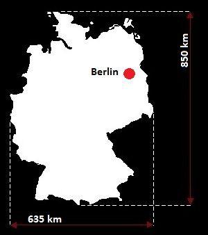 Niemcy wymiary