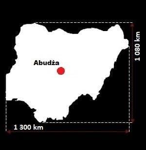 Nigeria wymiary