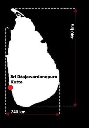 Sri Lanka wymiary