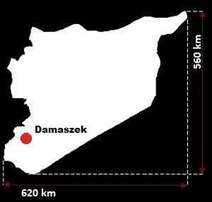 Syria wymiary