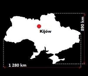 Ukraina wymiary