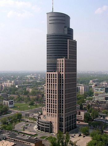 Warsaw Trade Tower grafika