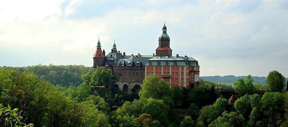 ZamekKsiąż w Wałbrzychu