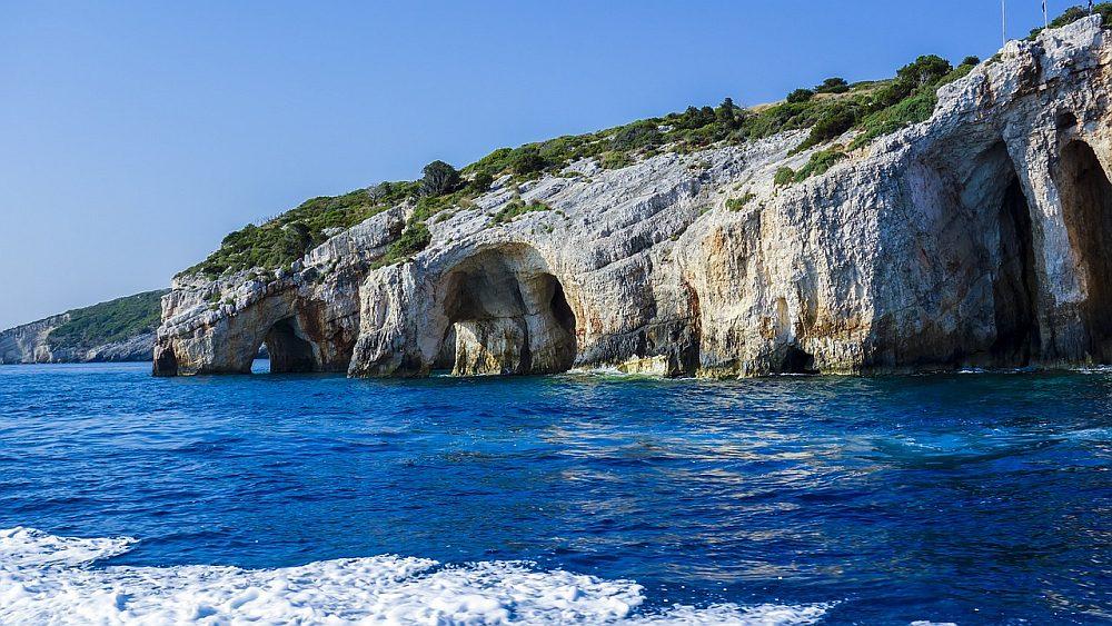 Grecja skały