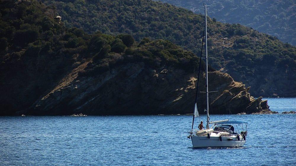 jacht w Grecji