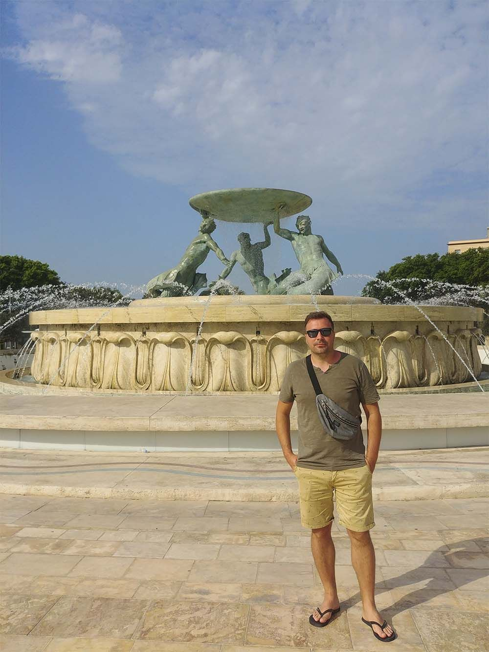 fontanna trytona