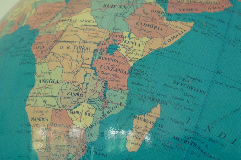 najmniejsze państwa Afryki