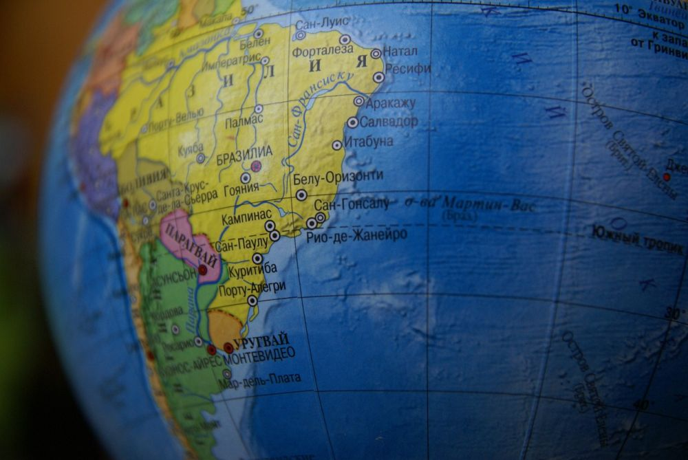 10 najmniejszych państw w Ameryce Południowej