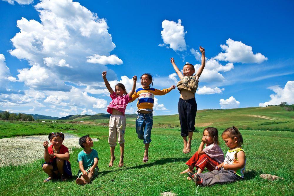 Na stepach Mongolii