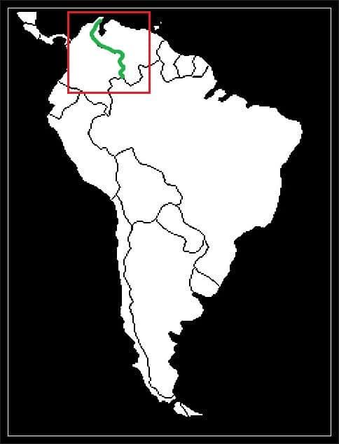 Granica Kolumbii z Wenezuelą grafika