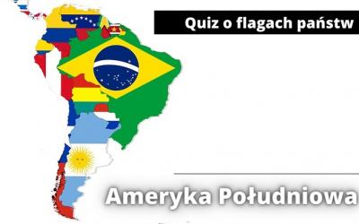Quiz o flagach państw Ameryki Południowej