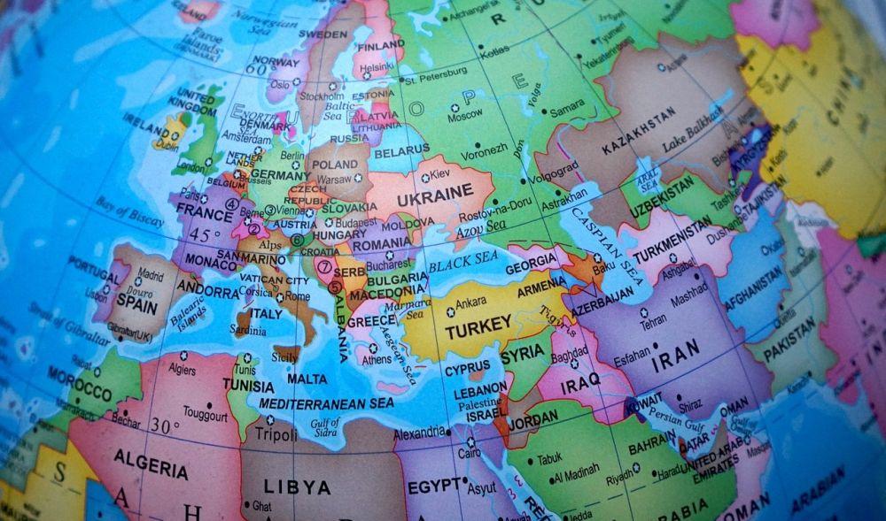 Quiz o krajach większych od Polski