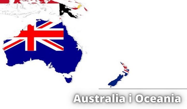 10 największych państw pod względem powierzchni w Australii i Oceanii