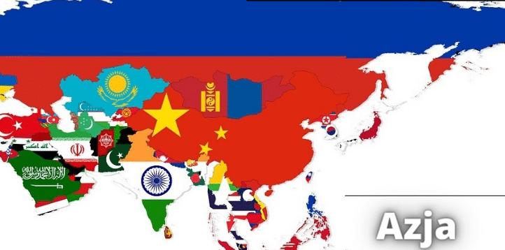 10 największych państw pod względem powierzchni w Azji