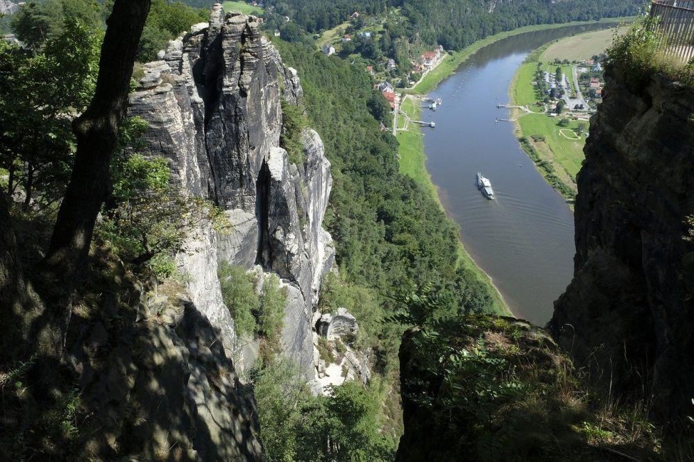 Park Narodowy Saskiej Szwajcarii grafika