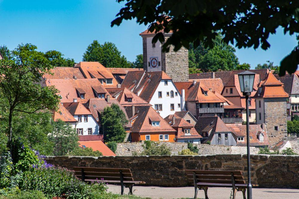 Rothenburg ob der Tauber grafika