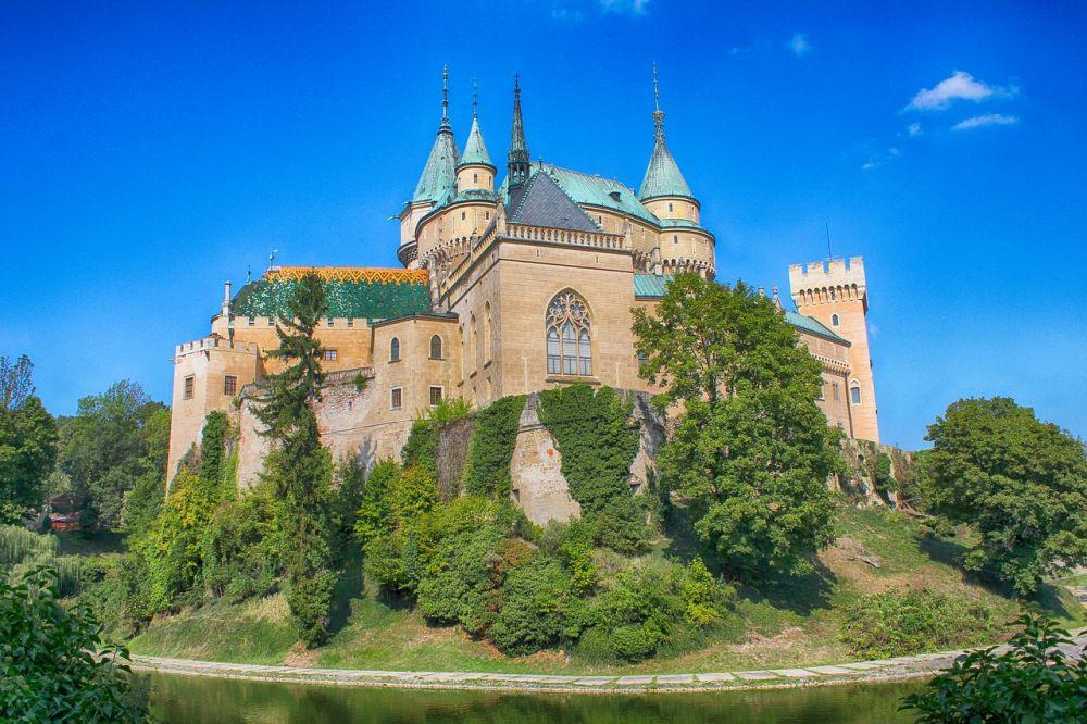 Zamek w Bojnicach grafika