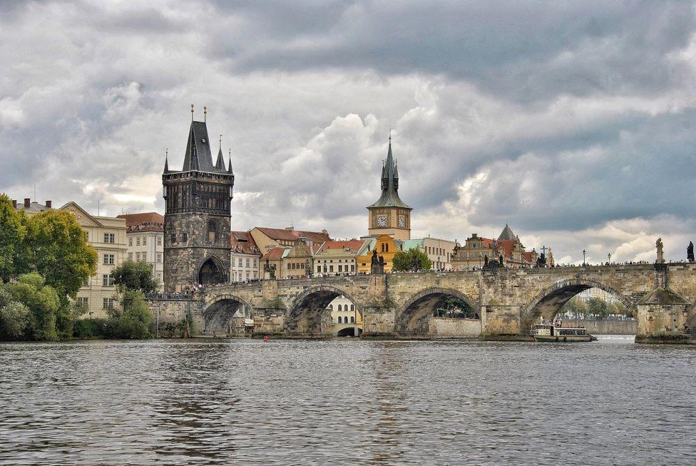 Most Karola w Pradze grafika