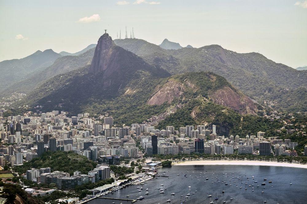 Statua Chrystusa Zbawiciela w Rio de Janeiro grafika