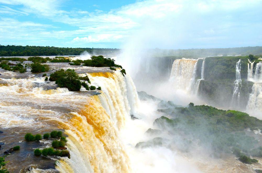 Wodospad Iguazú grafika