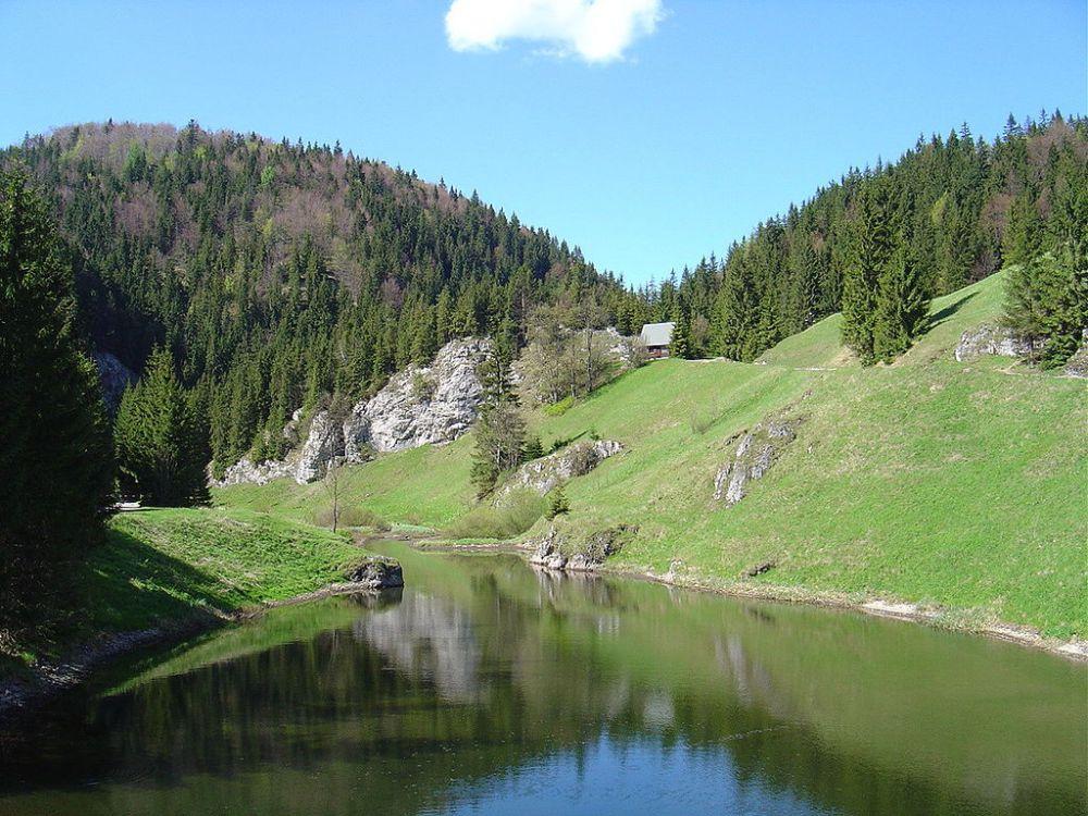 Park Narodowy Słowacki Raj grafika