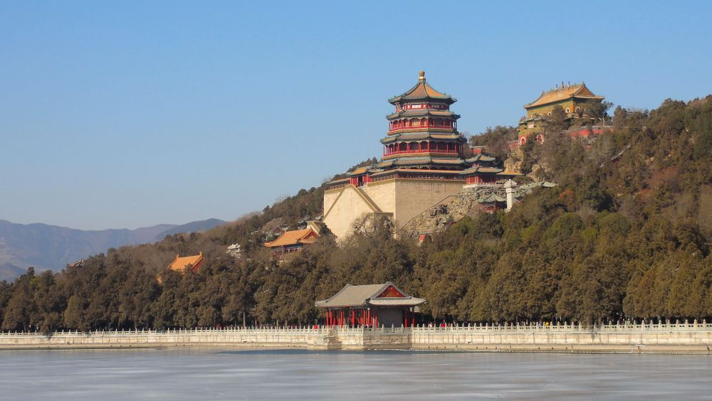 Pałac Letni w Pekinie grafika