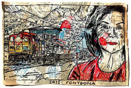 Iris Fontbona grafika