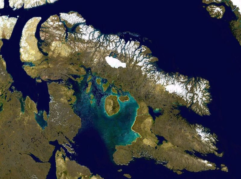 Ziemia Baffina grafika
