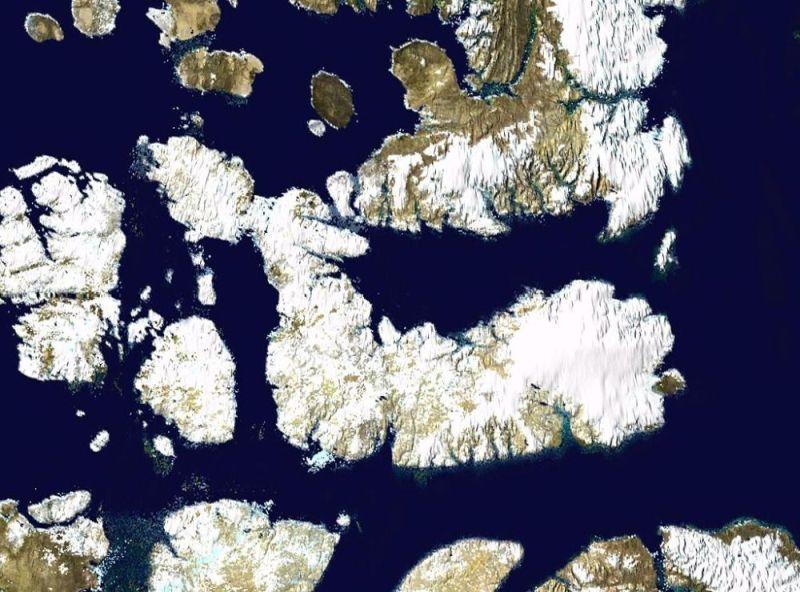 Wyspa Devon grafika