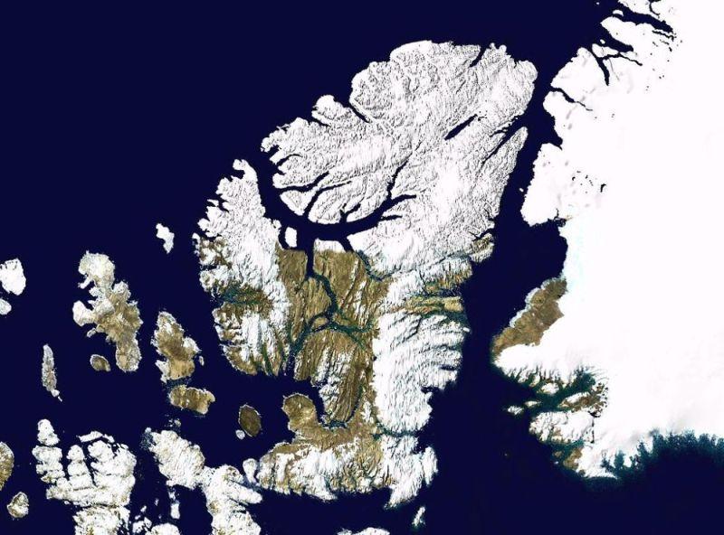 Wyspa Ellesmere'a grafika