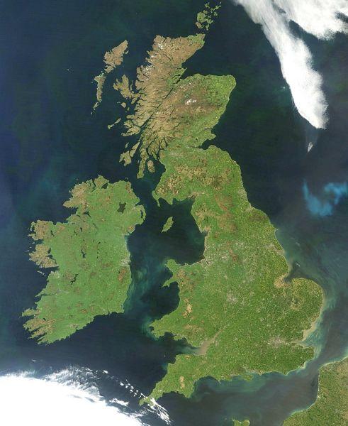 10 największych wysp w Europie