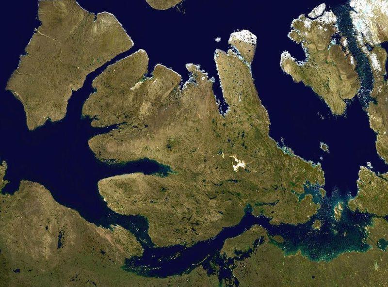 Wyspa Wiktorii grafika